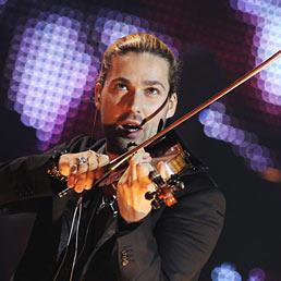 Il violinista tedesco-americano David Garrett (Ansa)