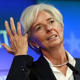 La direttrice generale del Fondo monetario internazionale, Christine Lagarde (Epa)