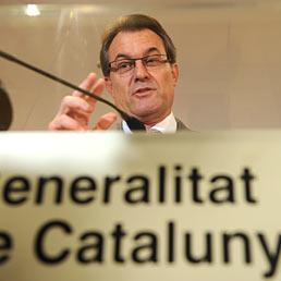 Nella foto, Artur Mas, da due anni presidente della Generalitat de Catalunia (AFP Photo)