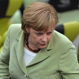 Nella foto La cancelliera tedesca Angela Merkel (AFP Photo)