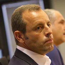 Il presidente del Barcellona, Sandro Rosell (AFP Photo)