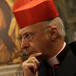 Nella foto il cardinale Angelo Bagnasco, presidente della Conferenza Episcopale (Ansa)