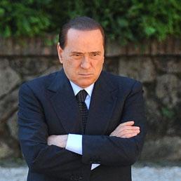 Silvio Berlusconi in una foto d'archivio (Epa)