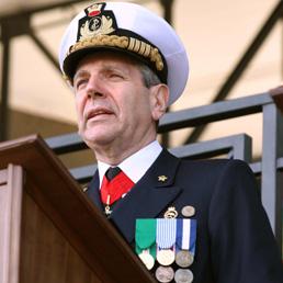L'ammiraglio Giampaolo Di Paola (Imagoeconomica)