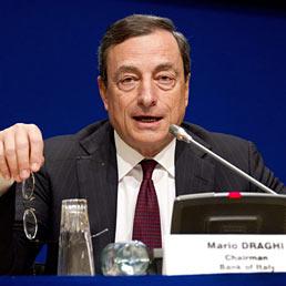 Il governatore di Bankitalia, Mario Draghi (EPA)