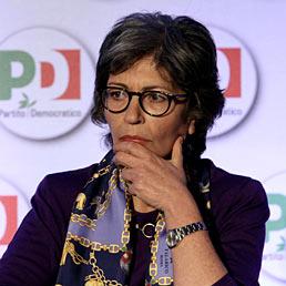 Nella foto il presidente dei senatori, la catanese Anna Finocchiaro (Emblema)