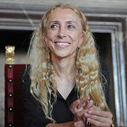 Nella foto Franca Sozzani, direttrice di Vogue Italia (Ansa)