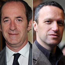 Nella foto il governatore del Veneto, Luca Zaia (a sinistra) e al segretario della Lega Nord-Liga Veneta, Flavio Tosi (Ansa)