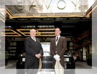 Roberto Lietti al Savoy di Londra