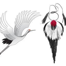 Collana di Giulia Boccafigli ispirata alla cultura giapponese