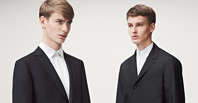 Z-Zegna Spring Summer 2014 Catalogue Cocktail Looks 01