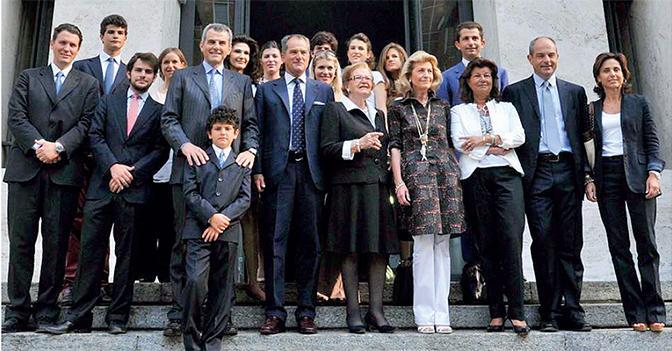 La famiglia Ferragamo
