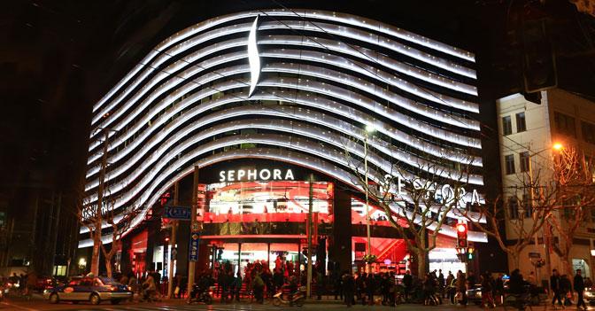 Sephora inaugura maxistore a shanghai e progetta 25 for Progetta i piani domestici delle tradizioni