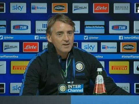 Mancini, con viola match particolare