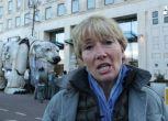 Orso polare Greenpeace 'invade' Londra