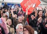 Syriza, esultanza dei militanti