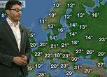 Previsioni meteo per domenica 24 maggio