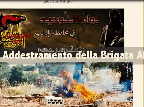 L'operazione antiterrorismo dei Carabinieri