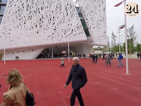 Expo 2015: visita al  palazzo Italia