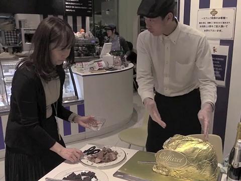 Aperitivo al cioccolato? Ai giapponesi piace così