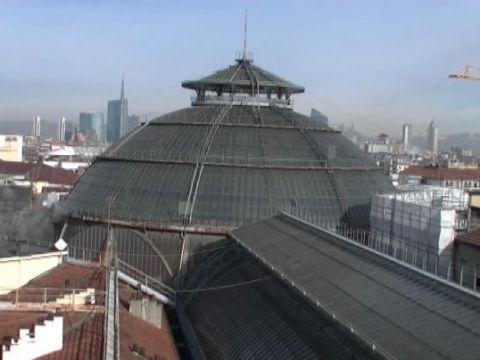 Apre passeggiata sui tetti della Galleria, nuova vista di Milano
