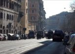 Manifestazione Lega a Roma, l'attesa a Casapound   Nude News