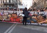 A Roma sfila il corteo anti Lega: #MaiConSalvini   NudeNews