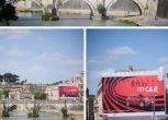 """""""Bye Bye"""" alla mega pubblicità della Fiat che oscurava San Pietro"""