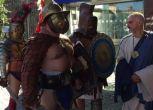 """Gli antichi romani invadono Expo, Nerone: """"Siamo la grande Roma"""""""