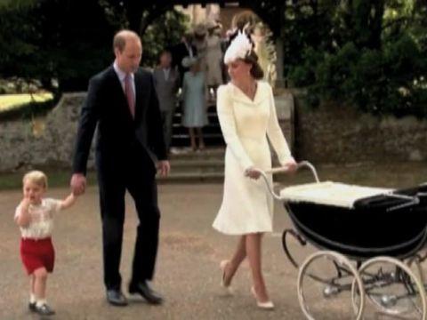Il battesimo della principessa Charlotte fa scuola