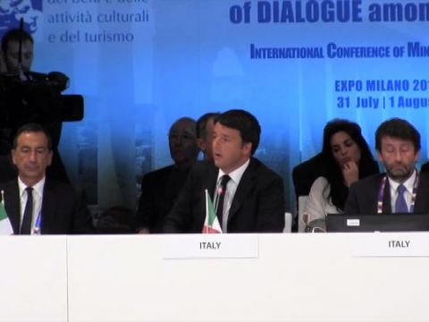 Renzi: la cultura salverà l'Italia, darà lavoro a tanti giovani