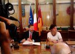 Il sindaco Marino torna in Campidoglio dopo le ferie estive