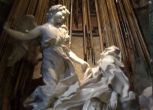 Risplende l'Estasi di S.Teresa di Bernini e riemerge una nuvola