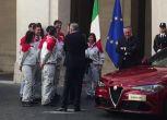 La nuova Giulia presentata a Palazzo Chigi da Marchionne e Elkann